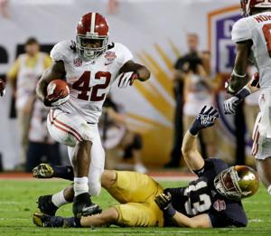'Bama bashes Notre Dame 42-14 in BCS title game