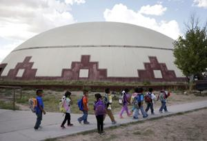 Indian schools face decayed buildings, poverty