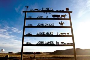 Campbell County's historic ranches: the Hines Ranch