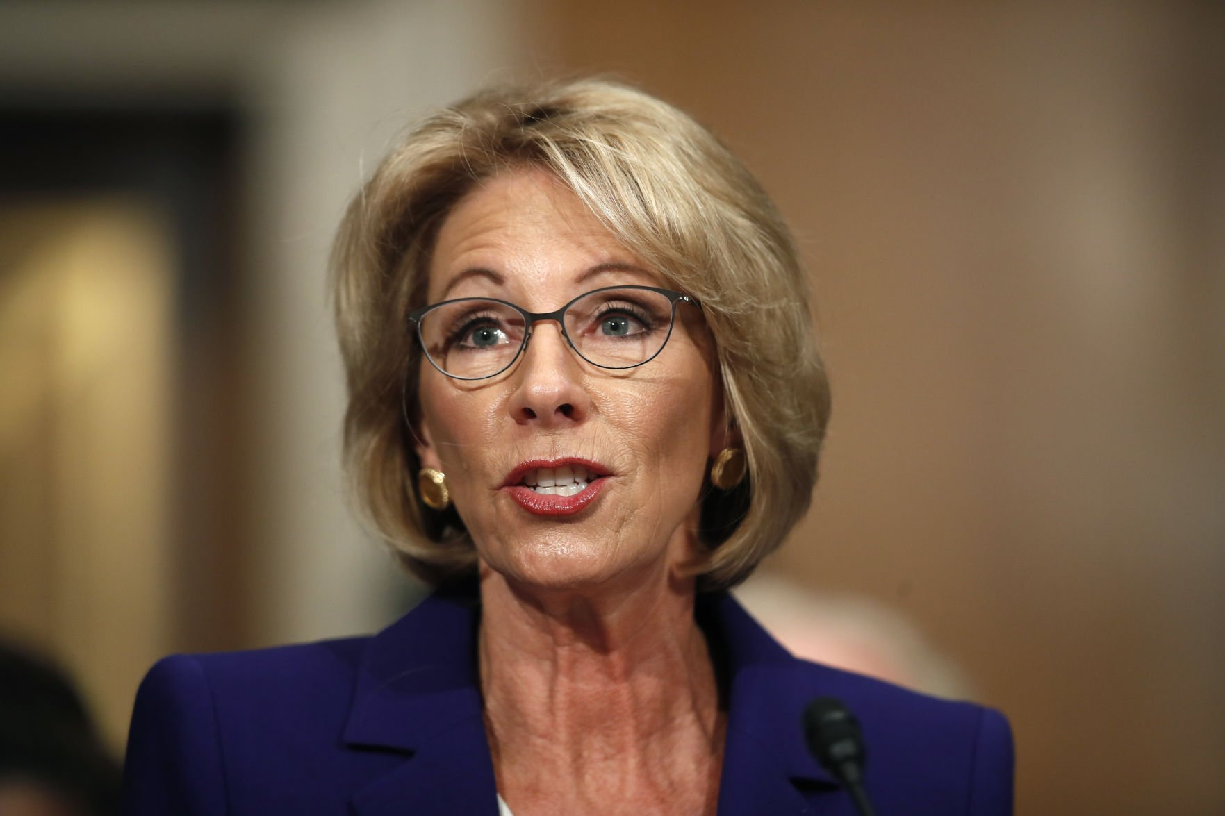 Toomey pops left's bubble - will back Trump education nominee Betsy DeVos