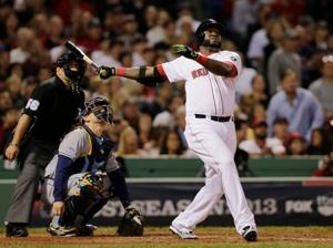 Ortiz powers Red Sox to 2-0 series lead