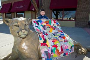 Sick kids find comfort in Sheridan woman's quilts