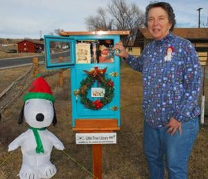Thermopolis resident offers free library books