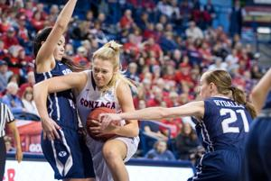 Zags bring momentum to WCC Tournament in Las Vegas