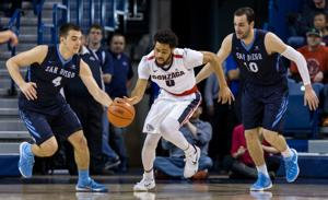 Melson flashes shooting ability in GU's blowout win against San Francisco