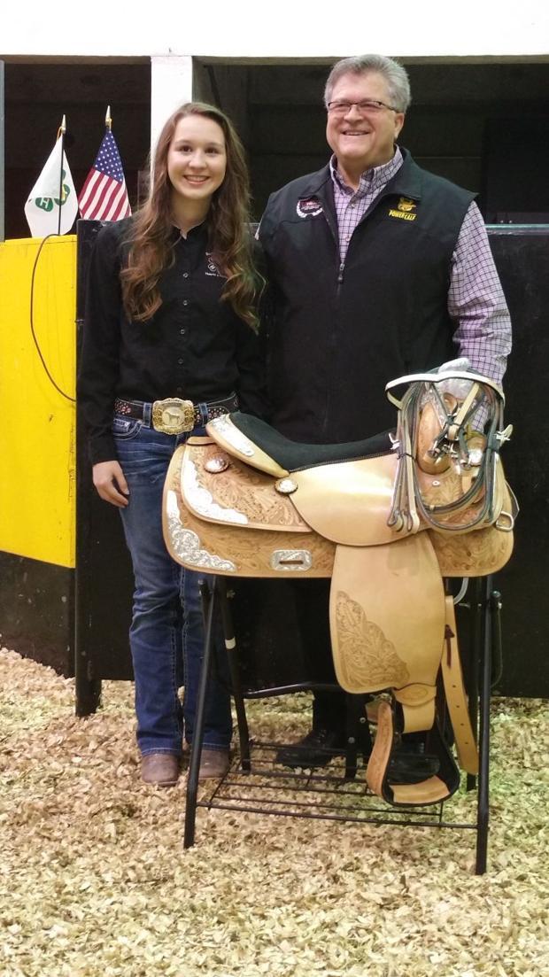 Easton's Norris receives MFA Saddle Award