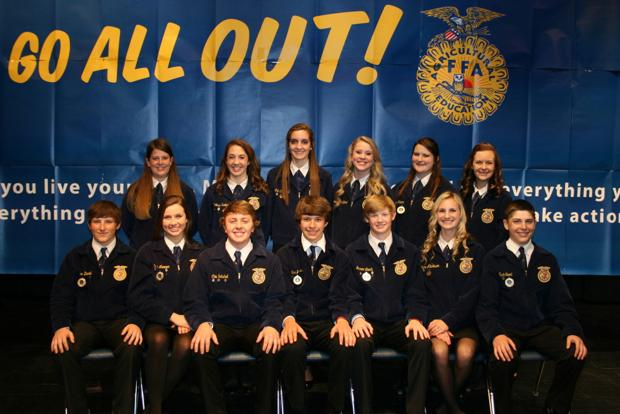 Chillicothe FFA recognized by national organization