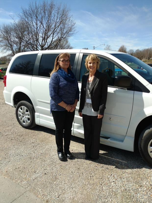 Colonial purchases new van to assist residents