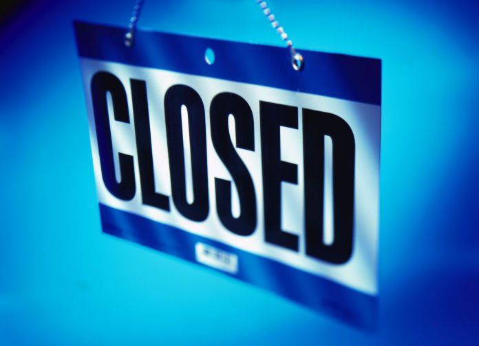 sorry we 39 re closed more stores closing up shop as online business grows local business. Black Bedroom Furniture Sets. Home Design Ideas