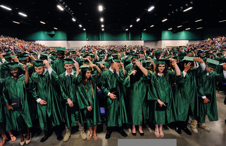 Southwest Guilford High School Graduation Greensboro