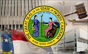 North Carolina state government graphic