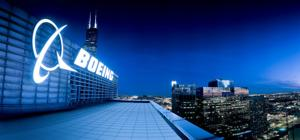 Boeing building