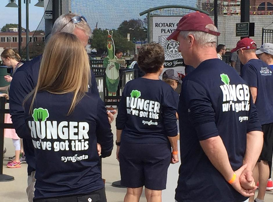 Thousands Participate In Walk Against Hunger Greensboro