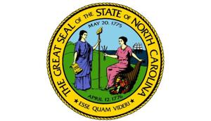 North Carolina N.C. state seal politics