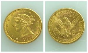 U.S. Gold Eagle $5 coin placed in Salvation Army kettle - Greensboro.com