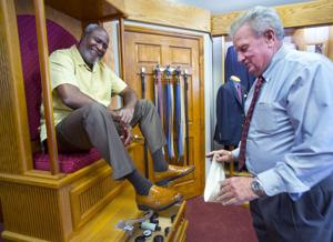 Greensboro men's store owner hopes customers take a shine to their shoes