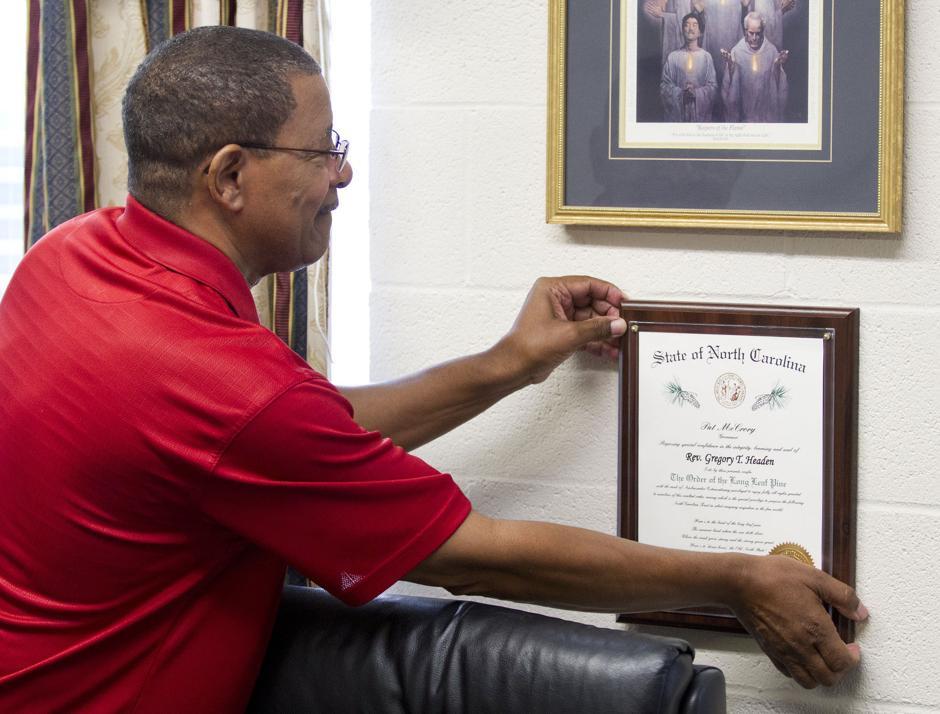 Rev gregory headen retires greensboro news record gnr for Gregory s jewelry greensboro nc