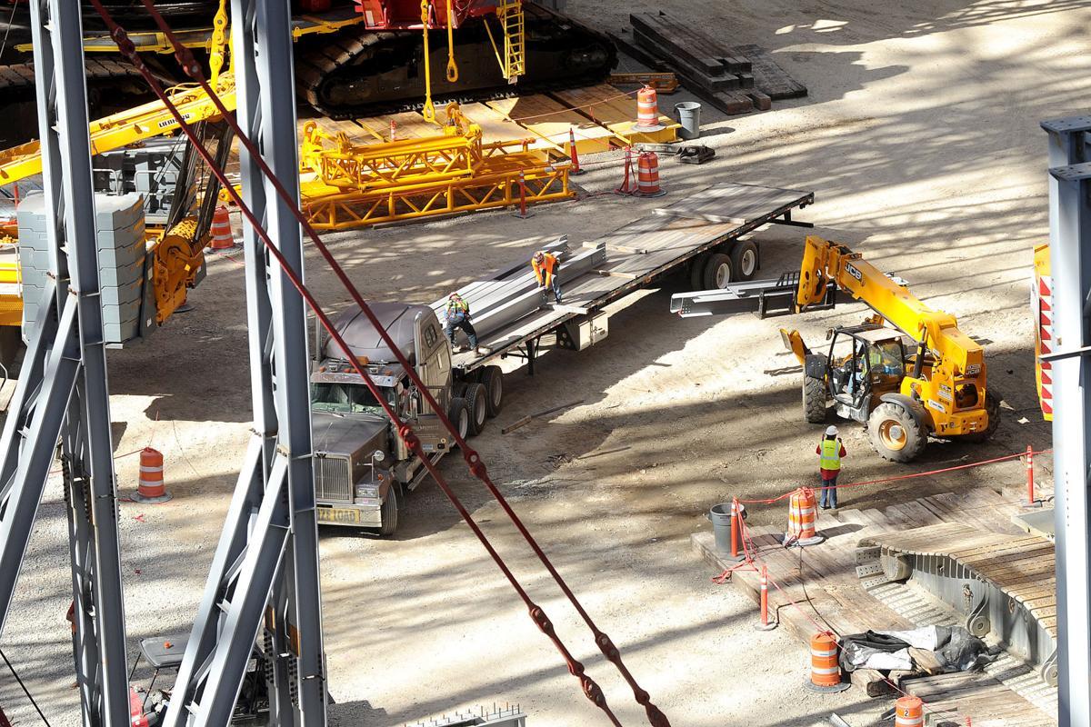 A look at the progress of mercedes benz stadium for Mercedes benz of buckhead staff