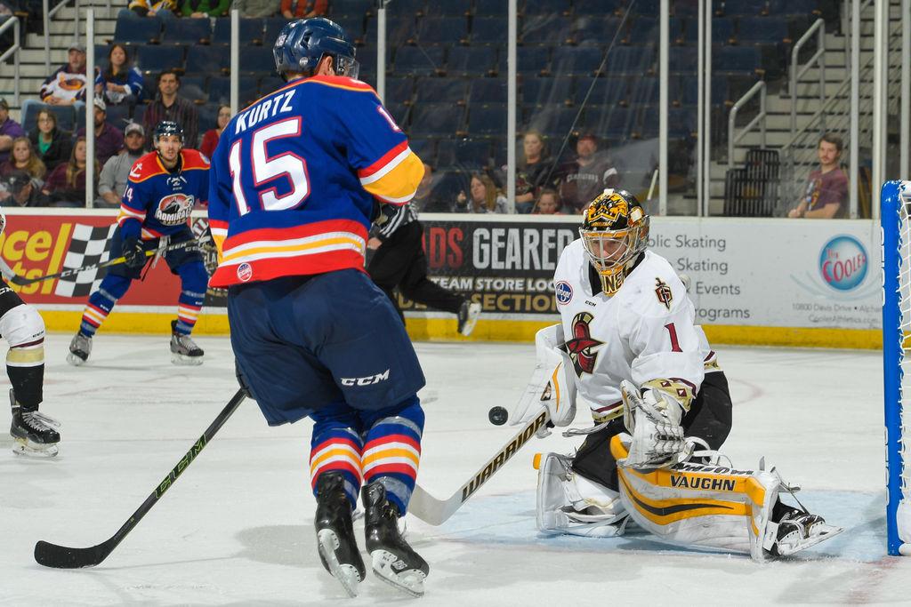 ECHL: Marshall's OT Winner Sends Gladiators Past Norfolk