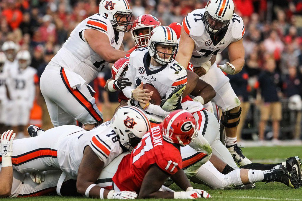 Georgia-Auburn notes: Rivalry takes a defensive turn after ...