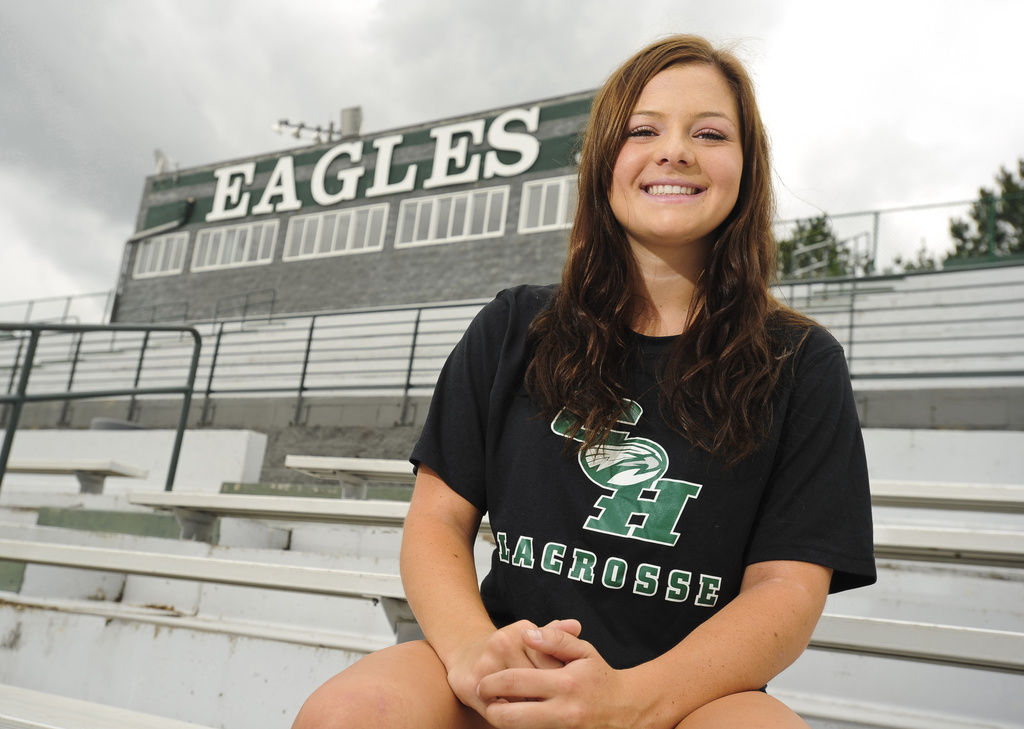 Girls lacrosse player of the year collins hill 39 s abby for Collins hill