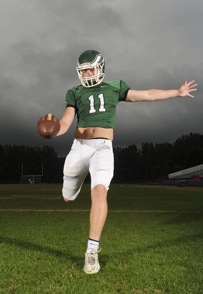 Collins Hill Senior Robert Snyder Lets His Physical Play