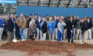 St. Frederick High School breaks ground for new Athletic Strength Complex