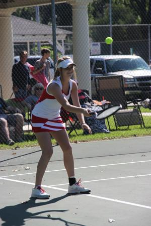 LHSAA Regional tennis matches @ Forsythe Park - April 20, 2015