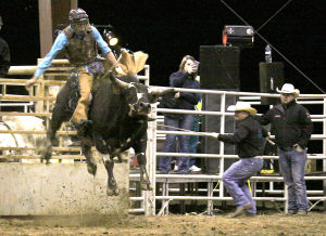 <p>Bullriders and cowboys from across the country will be competing this weekend in Winnsboro.</p>