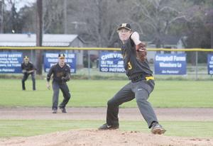 <p><strong>WILL RYAN</strong> pitched a one-hitter in Neville's 13-2 win over Franklin Parish on Thursday in Winnsboro.</p>