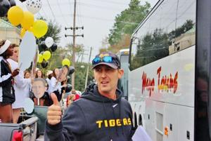 Neville Nation sees the Tigers off to New Orleans