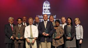 <p><strong>UNIVERSITY OF</strong> Louisiana at Monroe faculty and staff gathered to honor excellence in research, teaching, creative/artistic activity, and service at the fifth annual ULM Foundation Awards of Excellence.</p>
