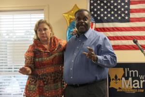 PHOTOS: Landrieu, Mayo rally voters at Jackson's office
