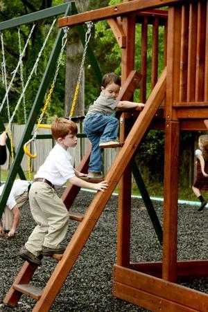 Geneva Academy re-opens school playground