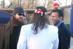 Gov. Jindal recognizes Duck Commander family