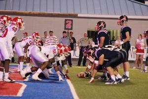 Ruston at West Monroe football game (Photos by Jimmy Touchet)