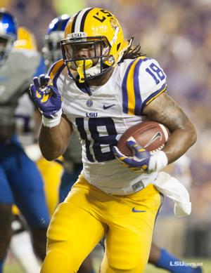 <p>LSU senior Terrence Magee tallied a career-best 220 all-purpose yards including 127 rushing on only nine carries, with scoring runs of 9 and 23 yards in the third quarter. The Franklinton native accounted for 121 of LSU's 131 yards of total offense in the opening stanza of the second half that gave LSU its final margin.</p>