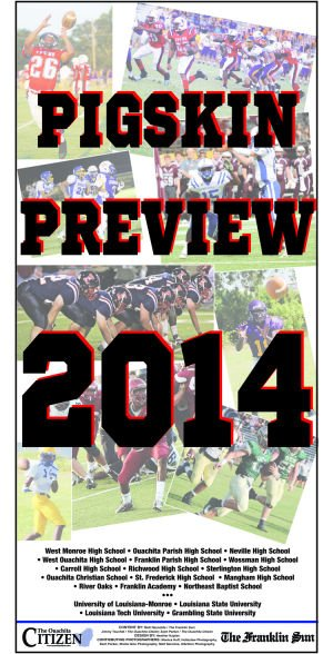 <p>Pick up a copy of this week's <em>Ouachita Citizen</em> or <em>Franklin Sun</em> for the annual Pigskin Preview special section — a join Citizen/Sun publication that looks at prep and college football in the area.</p>