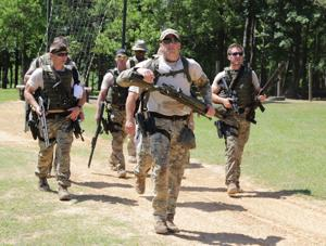 <p><strong>SOME 150</strong> law enforcement officers converged on the Ouachita Parish Sheriff's Office Rifle Range this week to participate in physical training and classes for Louisiana SWAT teams. The 16th annual Louisiana Tactical Police Officer Association conference began Monday.</p>