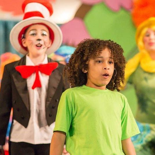 DeAndre Horner on the Broadway stage