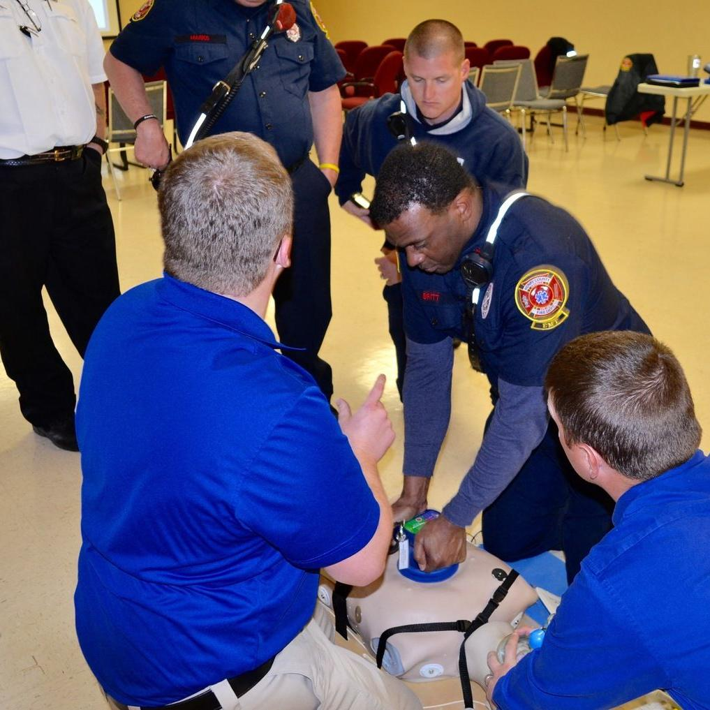 Henry County Fire Department demonstrates new CPR devices