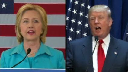Clinton derides Trump's fitness; he disparages her honesty