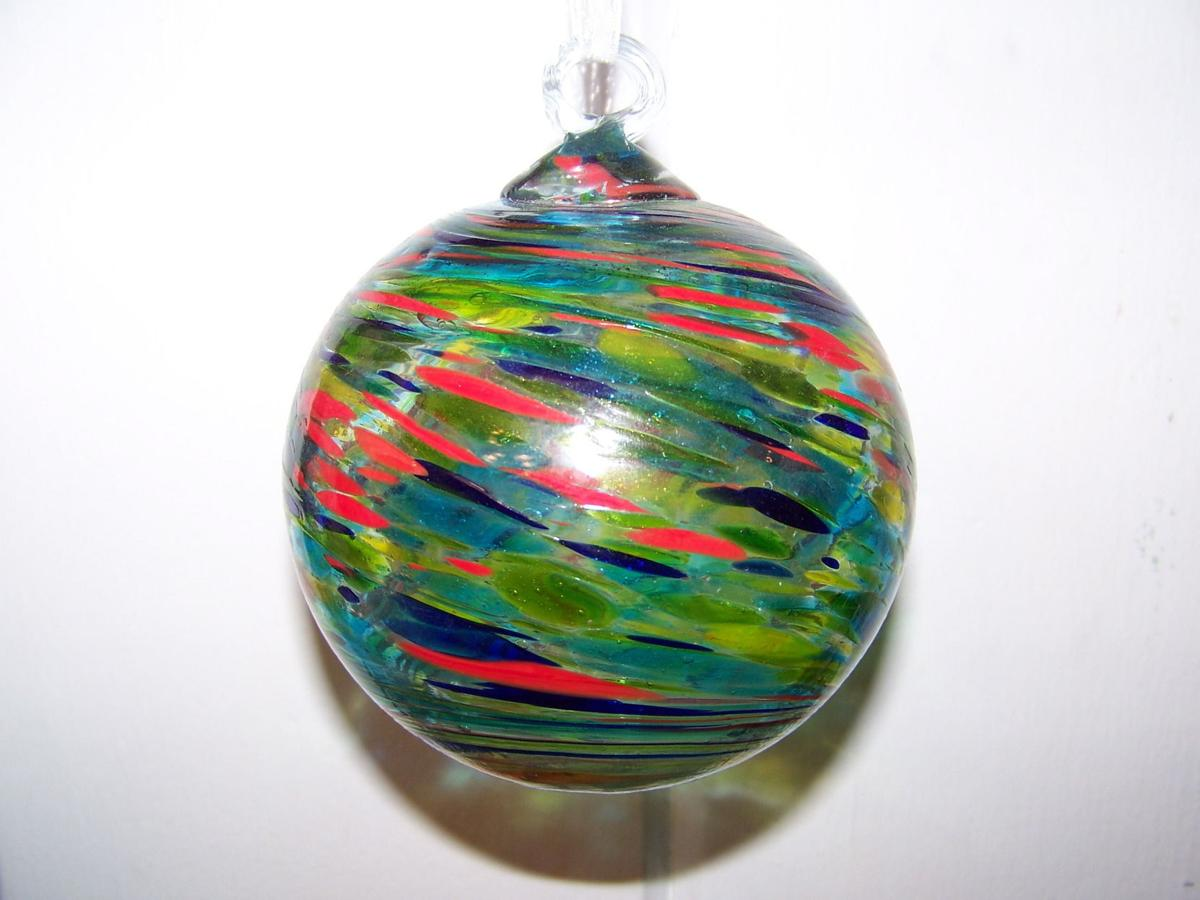 Friendship ball ornament - Friendship Ball Symbolizes God S Light To One And All