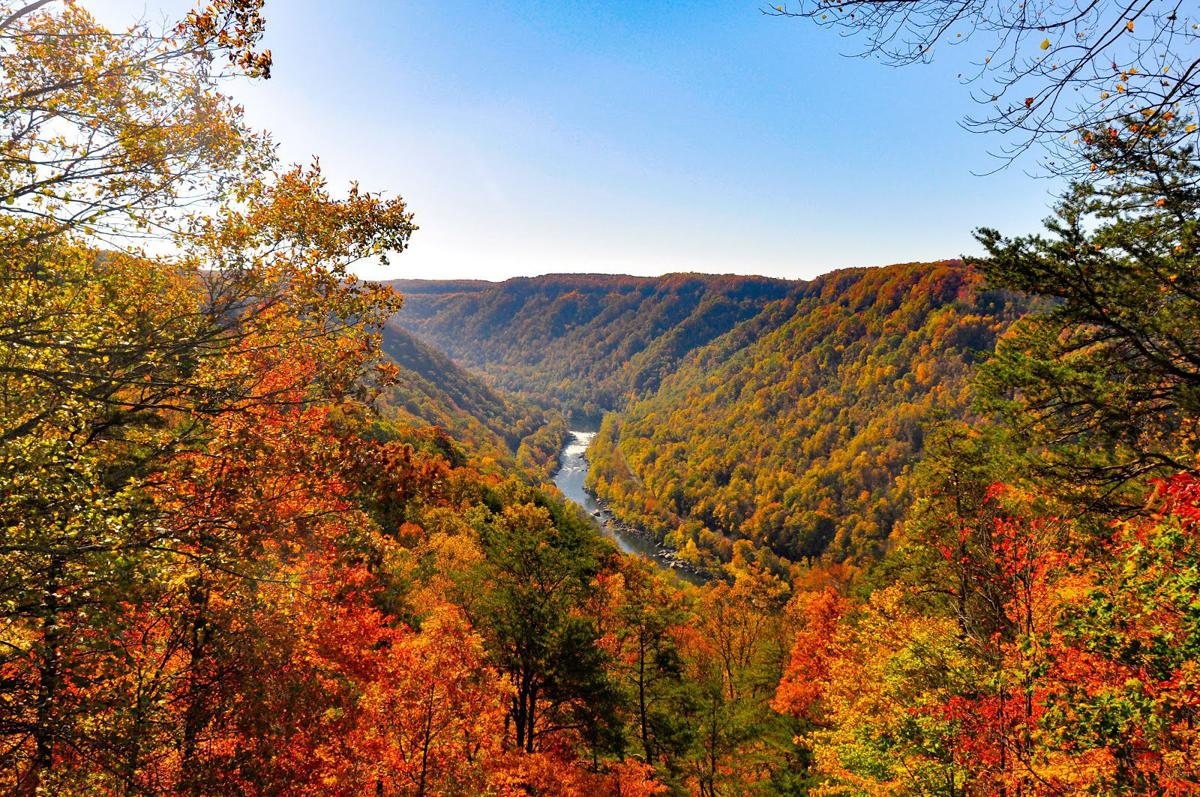 Five shocking mountain views from w va trails features for West fall