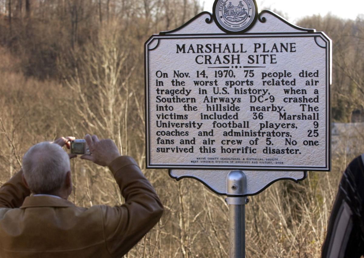 Marshall university 1970 plane crash pictures