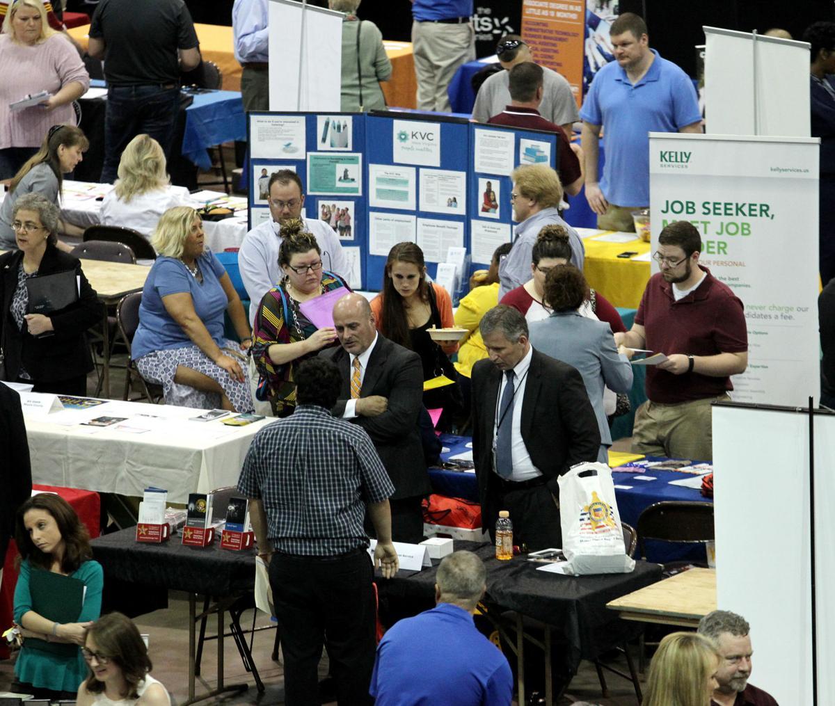 job fair strives to link employers to job seekers business job fair strives to link employers to job seekers
