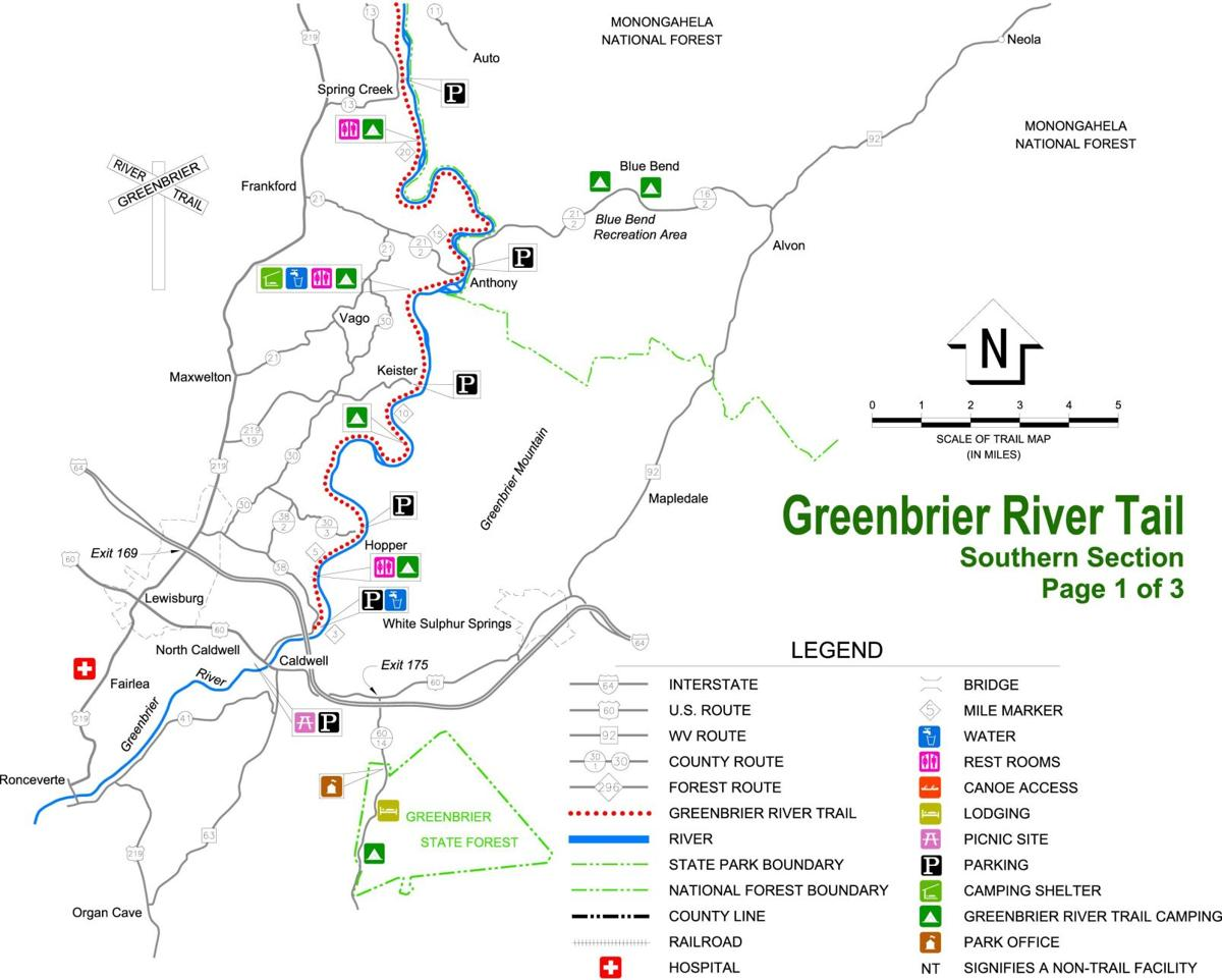 C:\Users\Owner\Documents\Drawings\WV State Parks\Greenbrier River Trail State Park\Greenbrier River Trail State Park Map Model
