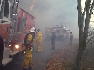 Chilhowie Fire 1