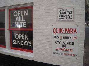 'Open All Nite'