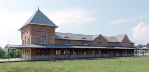 Bristol Train Station front view